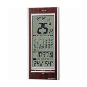CITIZEN シチズン デジタル時計 電波時計 掛・置兼用 パルデジットカレンダー142 8RZ142-023|cuore