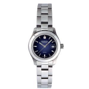 SWISS MILITARY スイスミリタリー ELEGANT エレガント ML103 レディース腕時計 ブルー文字盤 ペアウォッチ cuore