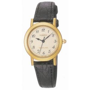 AUREOLE オレオール レザー SW-436L-2 クオーツ レディース腕時計 ペアウォッチ|cuore