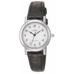 AUREOLE オレオール レザー SW-436L-3 クオーツ レディース腕時計 ペアウォッチ|cuore