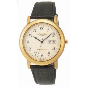 AUREOLE オレオール レザー SW-436M-2 クオーツ メンズ腕時計 ペアウォッチ|cuore
