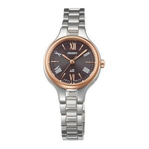ORIENT オリエント IO イオ ナチュラル&プレーン ソーラー電波時計 WI0131SD レディース腕時計|cuore