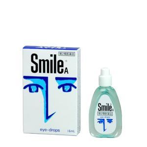 【第2類医薬品】[メール便][送料無料][代金引換不可]スマイルA 16ml[目薬]|curecarat