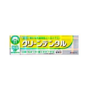 【医薬部外品】クリーンデンタルM 口臭ケア 100g[第一三共][フッ素 薬用 歯磨き粉]|curecarat