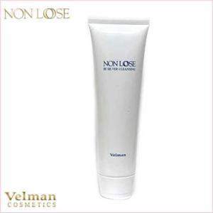 洗顔 ベルマン化粧品 ノンルース  バイシルバークレンジング 徳用 300g 洗い流し専用|curenet-shop