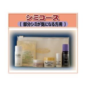 【メール便送料無料】ベルマン化粧品シミコース(部分シミの気になる方)NONLOOSEお試しセット|curenet-shop