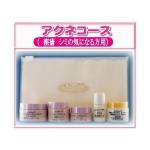 【メール便送料無料】ベルマン化粧品ニキビ(瘢痕の方)へNONLOOSEお試しセット curenet-shop