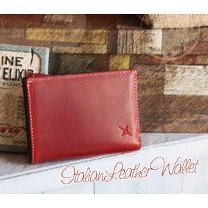 イタリア・オリーチェ社製レザー・アンティーク加工二つ折り財布(メンズ/レディース)[AinSoph・アインソフ・プレゼントにお勧め]【送料無料】|curicolle