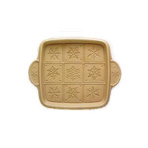 スノーフレーク・ショートブレッドパン【スイーツ型・おまとめSALE対象品】|curicolle