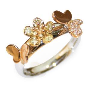 花の香(はなのか)ダイヤモンドリング18K|curicolle
