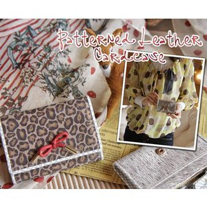 パターン カードケース(名刺入れ)|curicolle