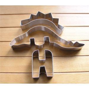 【激安セール】立体ステゴザウルスのクッキーカッターセット[ハッピースイーツ対象商品][HFK]|curicolle