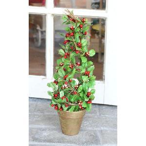 ホリートピアリーポット * クリスマスツリー 45cm|curicolle