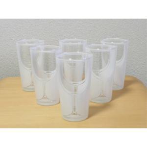 【激安セール】ワイングラスシルエットグラス・モダングラス6セットWH[HFK] curicolle