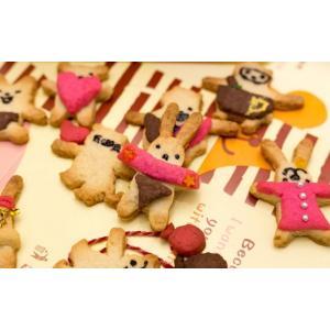抱っこクマさんクッキー型/だっこくま&うさぎビスケット型セット (くまクッキー型等4種類+フェイススタンプ付き )※返品交換は承っておりません。|curicolle