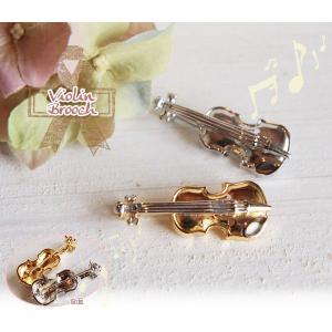 バイオリンminiブローチ|curicolle