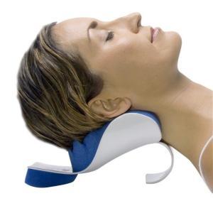 首〜頭をしっかりホールドする首枕。ネックホルダー (ネックピロー/ストレッチ枕/リラックス枕) ※返品交換は承っておりません。|curicolle