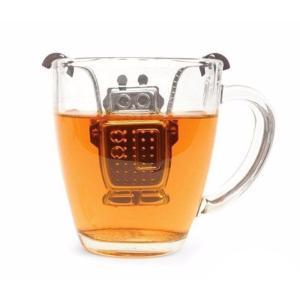 ロボット・ティーストレーナー[ROBOTのティーインフューザー/茶こし/茶漉し]※返品交換は承っておりません。|curicolle