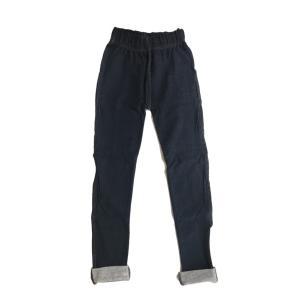 デニムスパッツ(レギンス)12分丈・ブルー(返品・交換・ギフト包装不可)|curicolle