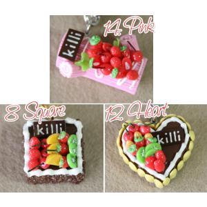 【数量限定】超Cute!!スイーツ・ブレスレット&バッグチャーム|curicolle