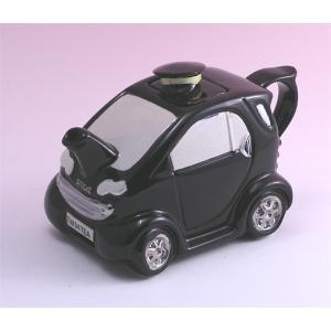 スマートカー 〜ブラック コレクタブルティーポット|curicolle