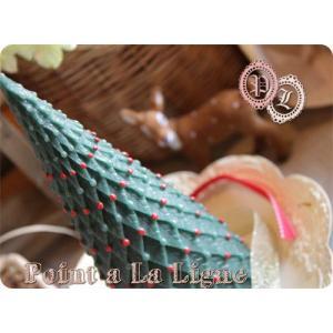 クリスマスツリー・キャンドルS[HKF][ポワンタラリーニュのインテリアキャンドル]|curicolle