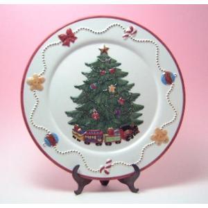 (激安セール)クリスマスツリープレート(返品 交換 ギフト包装不可)|curicolle