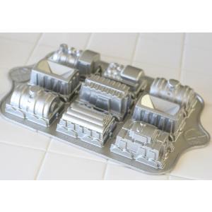 トレインパン 蒸気機関車のケーキ型(ノルディックウエア NORDIC WARE)|curicolle