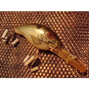オールドルアー レーベル ディープ・ウィR ナチュラルカラー ブルーシャッド バス釣りに! その1|curtiscreek