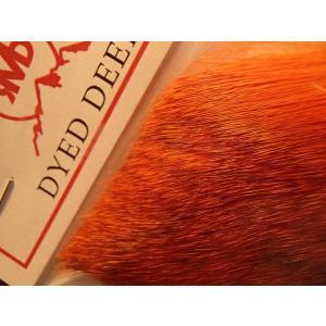 バスバグのタイイングに ロッキーマウンテン ディアヘア ブリーチダイド オレンジ|curtiscreek
