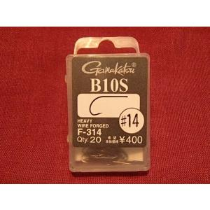 バスバグ・バスフライ用フライフック ガマカツ B10S #14  バスやパンフィッシュに!|curtiscreek