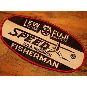 Lew / Fuji ルー/フジ ビンテージワッペン フィッシングベストやバッグなどのワンポイントに!|curtiscreek