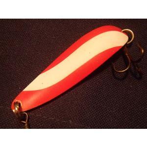 オールドスプーン パラバン サラマンダー PARAVAN SALAMANDER 16g 赤白/金 未使用品 トラウトフィッシングに!|curtiscreek