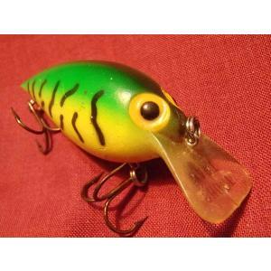 オールドルアー ストーム ショートワート ラージサイズ ファイヤータイガー バス釣りに!|curtiscreek