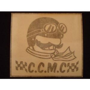 C.C.M.C. アンクルカーチス オリジナルステッカー 黒抜き オートバイに!|curtiscreek