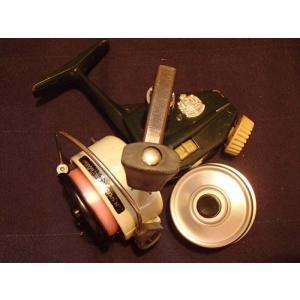 オールドリール ABU/ZEBCO カーディナル4 スピニングリール スウェーデン製 アルミスプール付き|curtiscreek