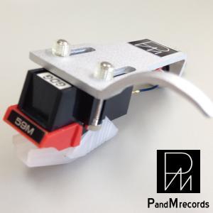 PandM Recordsヘッドシェル付きMM型国産カートリッジ59m01|customfan