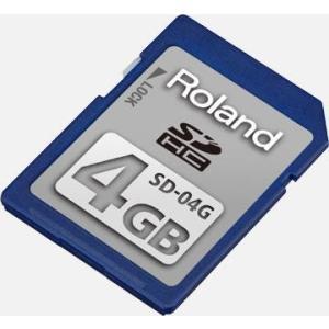 Roland SD/SDHCメモリー・カード SD-04G