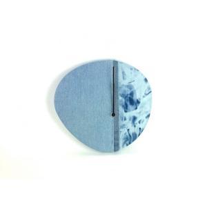 デニムパッチワーク 壁掛け時計|cutand