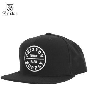 BRIXTON ブリクストン キャップ Oath Snap Back Cap オース 帽子|cutback2