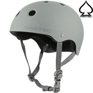 スケボー ヘルメット PRO TEC プロテック Classic Skate Helmet (Rubber Gray) スケートボード BMX 自転車 プロテクター