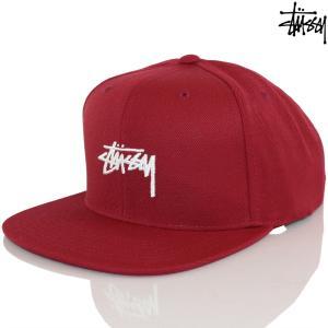 キャップ 帽子 Stussy ステューシー Stock Cap チェリー ストック ストリート ファッション スナップバック メンズ|cutback2