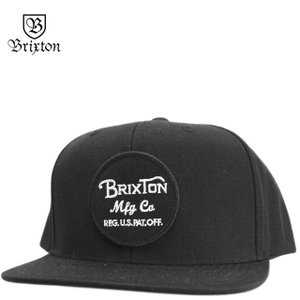 BRIXTON ブリクストン キャップ Wheeler Snap Back Cap ウィーラー 帽子|cutback2