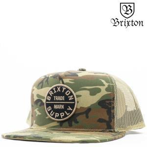 BRIXTON ブリクストン キャップ Oath III Mesh Cap (カーキカモ) オース 帽子 メッシュキャップ|cutback2