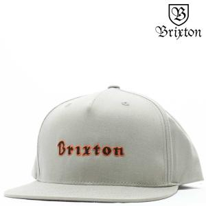 BRIXTON ブリクストン キャップ Proxy MP Snap Back Cap (グレー) プロキシー 帽子|cutback2