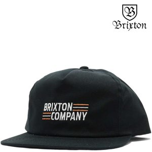 BRIXTON ブリクストン キャップ Lucero HP Snap Back Cap (ブラック) ルセロ 帽子|cutback2