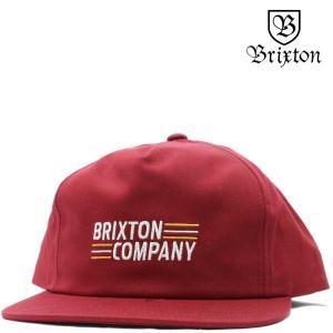 BRIXTON ブリクストン キャップ Lucero HP Snap Back Cap (バーガンディ) ルセロ 帽子|cutback2
