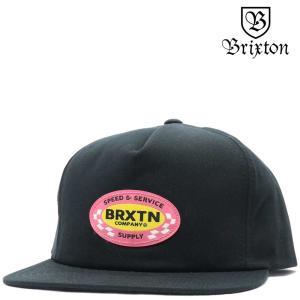 BRIXTON ブリクストン キャップ Pomona HP Snap Back Cap (ブラック) ポモナ 帽子|cutback2