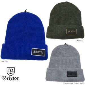 BRIXTON ( ブリクストン ) Rift Beanie ( リフト スケートボード スケボー ニット帽 ハット ビーニー ブリックストン ) cutback2