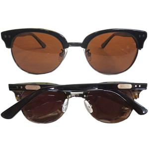 Ronin Eyewear ( ロニンアイウェアー ) 50/50 ウラベッコウフレーム ブラウンポ...